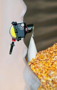 Levalert Installed on grain bin